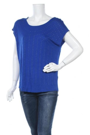 Γυναικεία μπλούζα A.N.A., Μέγεθος L, Χρώμα Μπλέ, Βισκόζη, Τιμή 9,87€