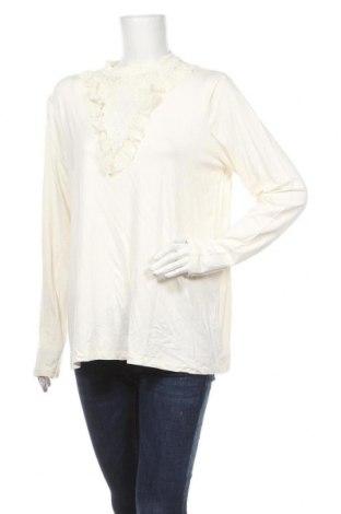 Γυναικεία μπλούζα ASOS, Μέγεθος XL, Χρώμα Εκρού, 95% βισκόζη, 5% ελαστάνη, Τιμή 15,59€