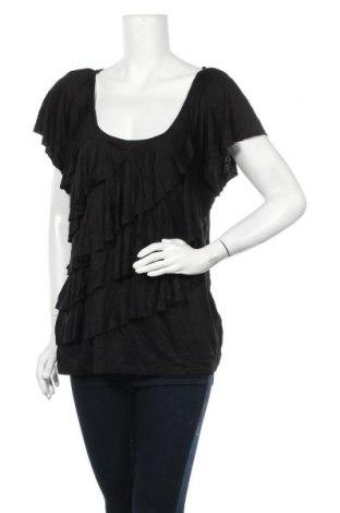 Дамска блуза Ab Studio, Размер XL, Цвят Черен, 95% вискоза, 5% еластан, Цена 17,64лв.