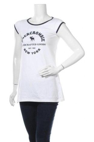 Γυναικεία μπλούζα Abercrombie & Fitch, Μέγεθος XS, Χρώμα Λευκό, 95% βαμβάκι, 5% ελαστάνη, Τιμή 20,78€