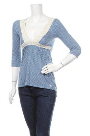 Γυναικεία μπλούζα Abercrombie & Fitch, Μέγεθος S, Χρώμα Μπλέ, Βαμβάκι, Τιμή 25,33€