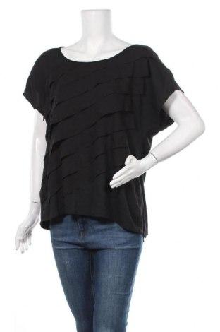 Γυναικεία μπλούζα Alfani, Μέγεθος L, Χρώμα Μαύρο, Πολυεστέρας, Τιμή 10,52€