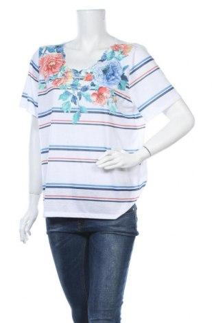 Дамска блуза Alfred Dunner, Размер L, Цвят Бял, Полиестер, Цена 15,17лв.
