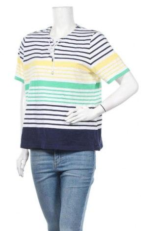 Дамска блуза Allison Daley, Размер L, Цвят Многоцветен, 60% памук, 40% полиестер, Цена 13,23лв.