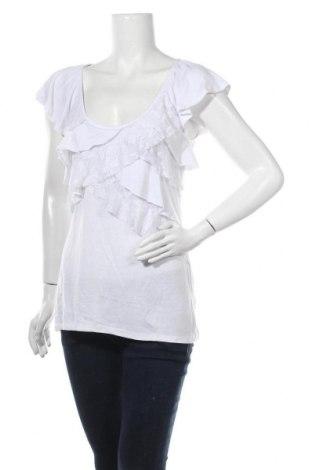 Дамска блуза Almost Famous, Размер L, Цвят Бял, 63% полиестер, 33% вискоза, 4% еластан, Цена 10,08лв.