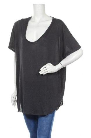 Γυναικεία μπλούζα American Eagle, Μέγεθος XXL, Χρώμα Γκρί, 80% μοντάλ, 20% πολυεστέρας, Τιμή 13,64€