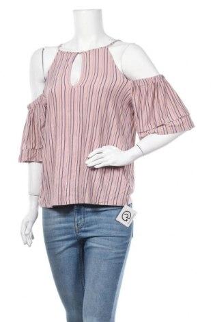 Γυναικεία μπλούζα American Eagle, Μέγεθος L, Χρώμα  Μπέζ, 95% βισκόζη, 5% ελαστάνη, Τιμή 16,89€