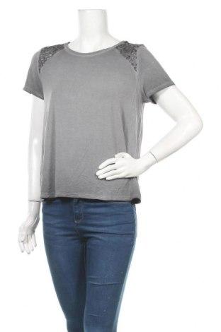 Γυναικεία μπλούζα American Eagle, Μέγεθος L, Χρώμα Γκρί, 95% βισκόζη, 5% ελαστάνη, Τιμή 18,19€