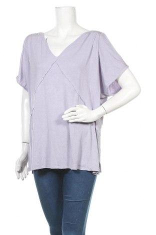 Γυναικεία μπλούζα American Eagle, Μέγεθος L, Χρώμα Βιολετί, 95% μοντάλ, 5% ελαστάνη, Τιμή 17,28€
