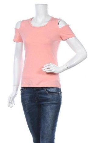 Γυναικεία μπλούζα Amisu, Μέγεθος M, Χρώμα Ρόζ , 95% βαμβάκι, 5% ελαστάνη, Τιμή 11,04€
