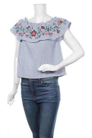 Γυναικεία μπλούζα Amisu, Μέγεθος S, Χρώμα Μπλέ, Πολυεστέρας, Τιμή 10,39€