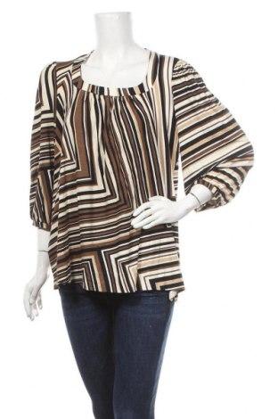 Дамска блуза Anna Holtblad, Размер L, Цвят Многоцветен, 94% вискоза, 6% еластан, Цена 37,49лв.