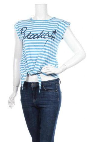Γυναικεία μπλούζα Atmosphere, Μέγεθος M, Χρώμα Μπλέ, 70% βαμβάκι, 30% πολυεστέρας, Τιμή 10,39€