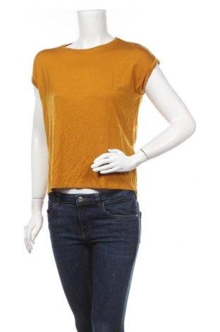 Γυναικεία μπλούζα Aware by Vero Moda, Μέγεθος S, Χρώμα Κίτρινο, 95% lyocell, 5% ελαστάνη, Τιμή 8,77€