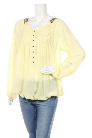 Дамска блуза B.C. Best Connections, Размер XL, Цвят Жълт, Полиестер, Цена 16,96лв.