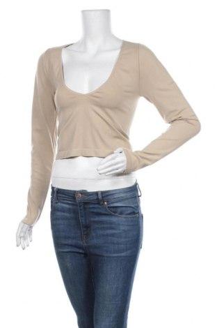 Γυναικεία μπλούζα BDG, Μέγεθος L, Χρώμα  Μπέζ, 92% πολυαμίδη, 8% ελαστάνη, Τιμή 6,27€