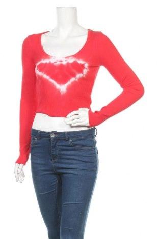 Γυναικεία μπλούζα BDG, Μέγεθος M, Χρώμα Κόκκινο, 95% βαμβάκι, 5% ελαστάνη, Τιμή 12,16€