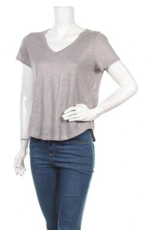 Γυναικεία μπλούζα Banana Republic, Μέγεθος XS, Χρώμα Γκρί, Λινό, Τιμή 30,54€