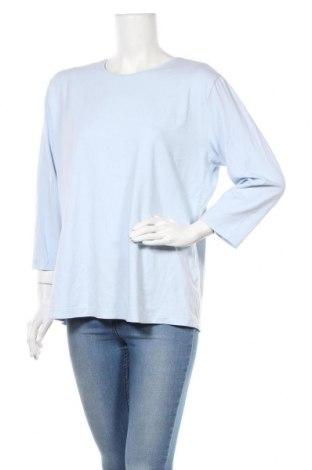 Дамска блуза Barisal, Размер XXL, Цвят Син, 95% вискоза, 5% еластан, Цена 6,72лв.