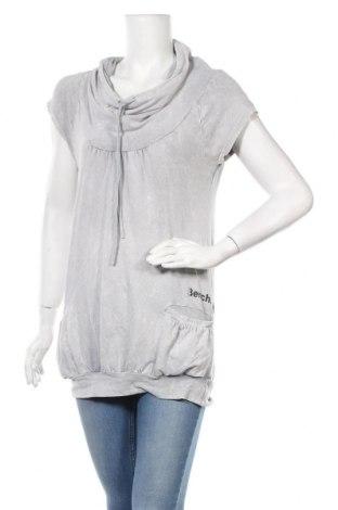Γυναικεία μπλούζα Bench, Μέγεθος M, Χρώμα Γκρί, 95% βαμβάκι, 5% ελαστάνη, Τιμή 11,69€