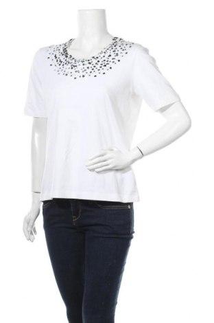 Γυναικεία μπλούζα Bianca, Μέγεθος XL, Χρώμα Λευκό, 92% βαμβάκι, 8% ελαστάνη, Τιμή 8,83€