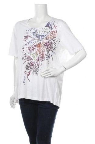 Γυναικεία μπλούζα Bianca, Μέγεθος XL, Χρώμα Λευκό, 95% βισκόζη, 5% ελαστάνη, Τιμή 11,04€