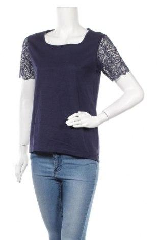 Γυναικεία μπλούζα Blue Motion, Μέγεθος M, Χρώμα Μπλέ, Βαμβάκι, Τιμή 11,11€