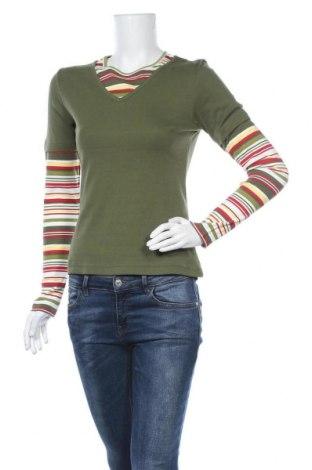 Γυναικεία μπλούζα Blue Motion, Μέγεθος S, Χρώμα Πράσινο, Βαμβάκι, Τιμή 11,04€