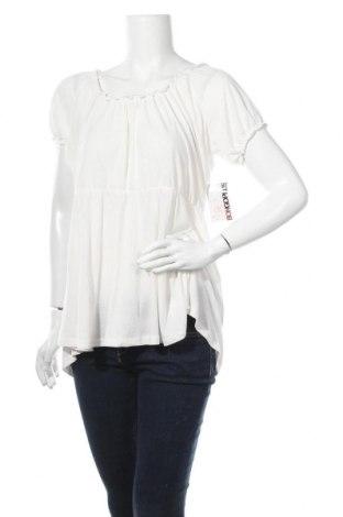Дамска блуза Bongo, Размер XL, Цвят Бял, 70% полиестер, 30% вискоза, Цена 7,64лв.