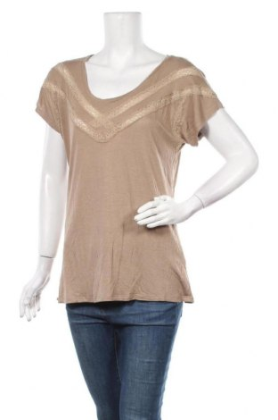 Γυναικεία μπλούζα Boysen's, Μέγεθος XL, Χρώμα  Μπέζ, Βισκόζη, Τιμή 8,28€