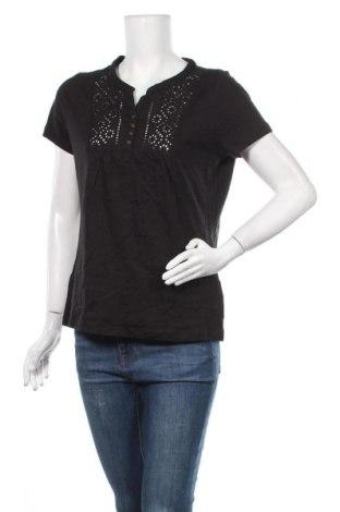Γυναικεία μπλούζα Boysen's, Μέγεθος L, Χρώμα Μαύρο, Βαμβάκι, Τιμή 9,35€