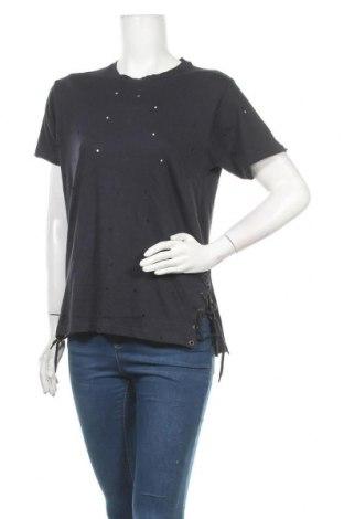 Дамска блуза Brave Soul, Размер S, Цвят Син, Памук, Цена 8,73лв.