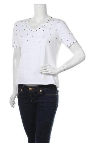Дамска блуза Brax, Размер L, Цвят Бял, 92% памук, 8% еластан, Цена 27,30лв.