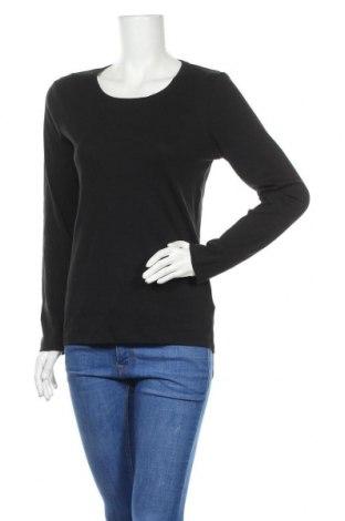 Дамска блуза Brookshire, Размер L, Цвят Черен, Памук, Цена 8,93лв.
