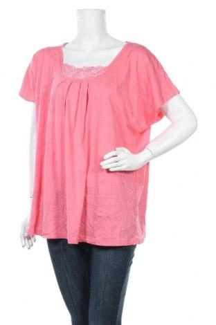 Пижама C&A, Размер 3XL, Цвят Розов, 50% памук, 50% модал, Цена 22,05лв.