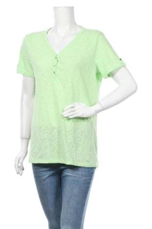 Γυναικεία μπλούζα C&A, Μέγεθος L, Χρώμα Πράσινο, 60% πολυεστέρας, 40% βαμβάκι, Τιμή 9,74€
