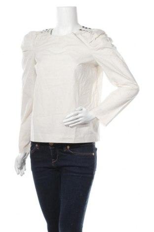 Дамска блуза COS, Размер M, Цвят Бежов, Памук, Цена 29,93лв.