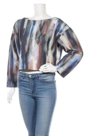 Дамска блуза COS, Размер M, Цвят Многоцветен, 48% памук, 37% вискоза, 15% полиестер, Цена 40,60лв.