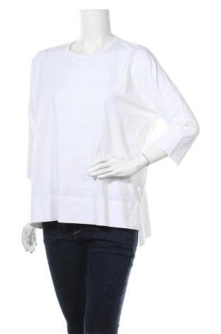 Дамска блуза COS, Размер S, Цвят Бял, Памук, Цена 20,21лв.