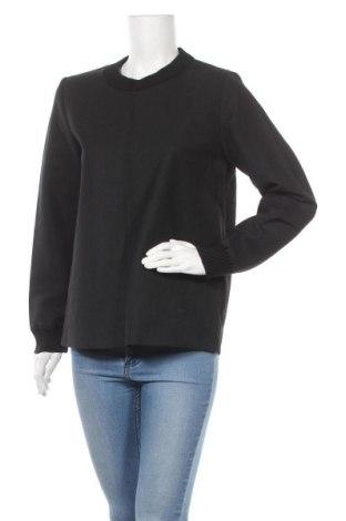Дамска блуза COS, Размер M, Цвят Черен, 55% полиестер, 45% вълна, Цена 39,00лв.
