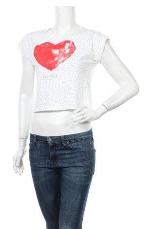 Γυναικεία μπλούζα Cache Cache, Μέγεθος M, Χρώμα Λευκό, Τιμή 8,18€