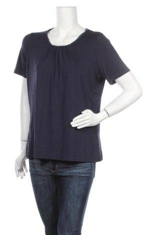 Дамска блуза Canda, Размер L, Цвят Син, 92% вискоза, 8% еластан, Цена 13,97лв.