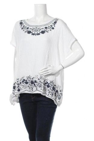 Дамска блуза Canda, Размер XL, Цвят Бял, Вискоза, Цена 14,70лв.