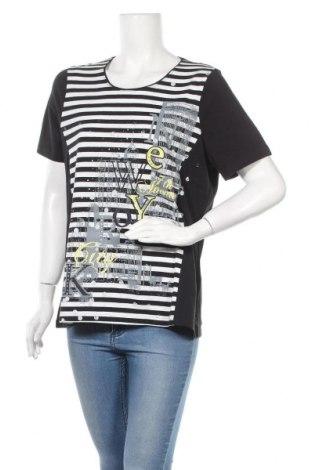 Дамска блуза Canda, Размер L, Цвят Черен, 95% памук, 5% еластан, Цена 27,93лв.