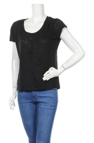 Γυναικεία μπλούζα Caroll, Μέγεθος L, Χρώμα Μαύρο, Λινό, Τιμή 20,78€