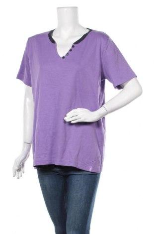 Γυναικεία μπλούζα Cecil, Μέγεθος XXL, Χρώμα Βιολετί, Βαμβάκι, Τιμή 9,09€