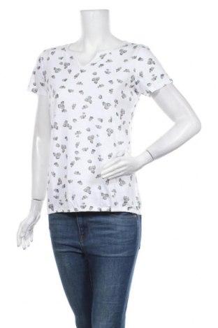 Дамска блуза Cecil, Размер S, Цвят Бял, 50% памук, 50% модал, Цена 31,50лв.