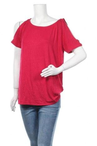 Дамска блуза Cellbes, Размер L, Цвят Розов, 95% вискоза, 5% еластан, Цена 12,60лв.