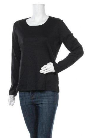 Γυναικεία μπλούζα Charles Vogele, Μέγεθος L, Χρώμα Μαύρο, Βαμβάκι, Τιμή 15,59€