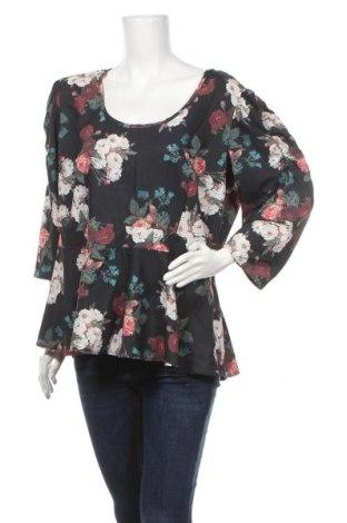 Дамска блуза Chi Chi, Размер XXL, Цвят Многоцветен, 97% полиестер, 3% еластан, Цена 17,96лв.